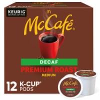 McCafe Decaf Premium Medium Roast Coffee K-Cup Pods