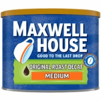 Maxwell House Medium Original Roast Decaf Ground Coffee
