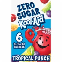 Kool-Aid On-The-Go Sugar-Free Tropical Punch Powdered Drink Packets