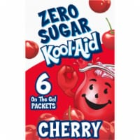 Kool-Aid On-The-Go Sugar-Free Cherry Powdered Drink Packets