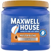 Maxwell House Master Blend Light Roast Ground Coffee