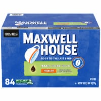 Maxwell House Decaf House Blend Medium Roast Coffee K-Cup Pods - 84 ct
