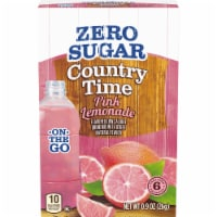 Country Time On-The-Go Zero Sugar Pink Lemonade Flavored Drink Mix Packets