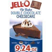 Jell-O No Bake Double Chocolate Cheesecake