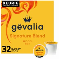 Gevalia Signature Blend Mild Roast Coffee K-Cup Pods - 32 ct