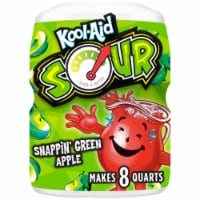Kool-Aid Sour Snappin' Green Apple Drink Mix