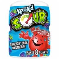 Kool-Aid Sour Shockin' Blue Raspberry Drink Mix