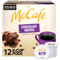 McCafe Chocolate Mocha Light Coffee K-Cup Pods 12 Count