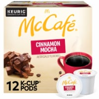 McCafe Cinnamon Mocha Light Coffee K-Cup Pods 12 Count