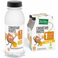 Creative Roots Peach Mango Flavored Coconut Water Kids Beverage