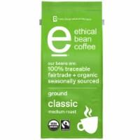 Ethical Bean Coffee Classic Medium Roast Organic Ground Coffee