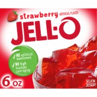 Jell-O Strawberry Gelatin Dessert Mix