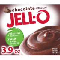 Jell-O Chocolate Instant Pudding & Pie Filling - 3.9 oz