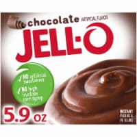 Jell-O Chocolate Instant Pudding & Pie Filling - 5.9 oz