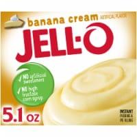 Jell-O Banana Cream Instant Pudding & Pie Filling - 5.1 oz