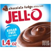 Jell-O Sugar Free Chocolate Fudge Instant Pudding & Pie Filling