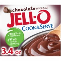 Jell-O Cook & Serve Chocolate Pudding & Pie Filling - 3.4 oz