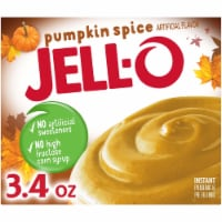 Jell-O Pumpkin Spice Instant Pudding & Pie Filling