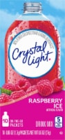 Crystal Light Raspberry Ice On-The-Go Drink Mix Packets