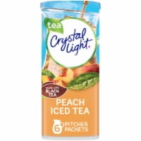 Crystal Light Peach Iced Tea Powdered Drink Mix