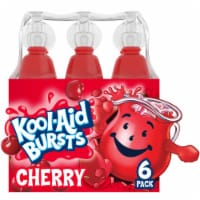 Kool-Aid Bursts Artificially Flavored Cherry Drinks