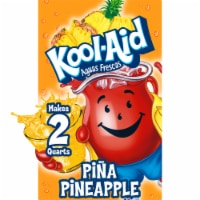 Kool-Aid Aguas Frescas Unsweetened Pina-Pineapple Powdered Drink Mix