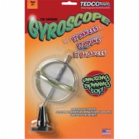 Tedco Toys 00007 Peggable Card And Gyroscope Blister