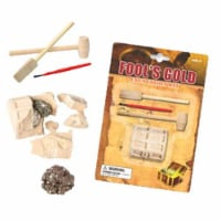 Tedco Toys 90004 Fools Gold Dig Excavation Kit