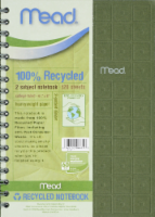 Mead® 100% Recycled 9.5x6 Notebook - 1 ct