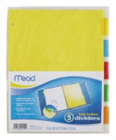 Mead Assorted File Folder 21 pk - Case Of: 24; Each Pack Qty: 21; Total Items Qty: 504 - Case of: 24