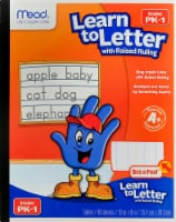 Mead® Learn to Letter Tablet