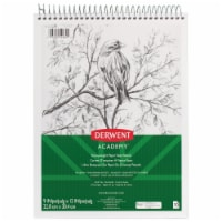 Mead products MEA54964 9 x 12 in. Wirebound Sketchbook Derwent Academy - 70 Count
