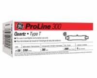 GE ProLine 300 watt T2.5 Double-Ended Halogen Light Bulb 5,760 lumens White 6 pk - Case Of: - Count of: 1
