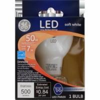 GE 7-Watt (50-Watt) Medium Base PAR20 Indoor LED Floodlight Light Bulb - 1 ct