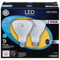 GE 10-Watt (65-Watt) BR30 LED Indoor Floodlight Bulbs - 2 pk