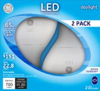 GE 10-Watt (65-Watt) Medium Base BR30 Indoor LED Floodlight Light Bulbs - 2 pk