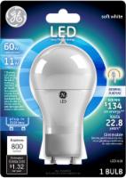 GE 11-Watt (60-Watt) GU24 Base A19 LED Light Bulb - 1 ct