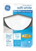 GE Halogen 43-W (60-W) G25 Decorative Light Bulb - 1 ct
