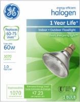 GE 60-Watt (60–75-Watt) PAR 38 Halogen Floodlight Bulb - 1 ct