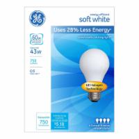 GE 43 Watt Halogen Soft White Light Bulbs
