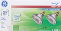 GE Energy-Efficient Par38 Halogen Bulb 60 W - 2 pk