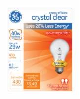 GE 29-Watt (40-Watt) A19 Halogen Light Bulbs - 2 pk