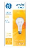 GE 150 Watt A21 Soft White Light Bulb - 1 ct