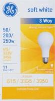 GE 50/200/250-Watt A21 3-Way General Purpose Light Bulb - 1 ct