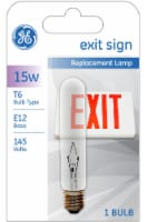 GE Exit Sign Replacement Lamp Light Bulb - 1 ct