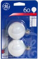 GE 60-Watt Light Bulbs - 2 pk