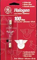GE 100-Watt Type T Halogen Light Bulb - 1 ct