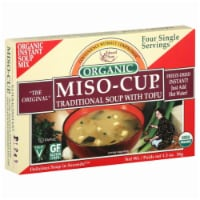 Edward & Sons Organic Miso-Cup Traditional Soup With Tofu