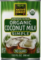 Native Forest  Organic Unsweetened Coconut Milk Simple