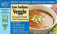 Edward & Sons Low Sodium Veggie Bouillon Cubes